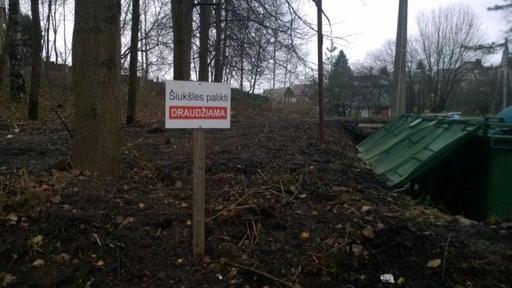 Nebėra bendros kompostavimo vietos